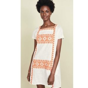 Tory Burch Embroidered Dress. Size XS. NWT.